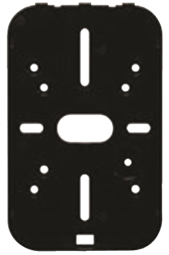 Aptiq And Xceedid Reader Replacement Parts Mini-mullion Backplate 23846355