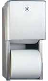 Surface Mounted Dual Toilet Paper - 9030