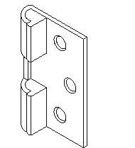 Door Stop And Keeper - Bm-1075