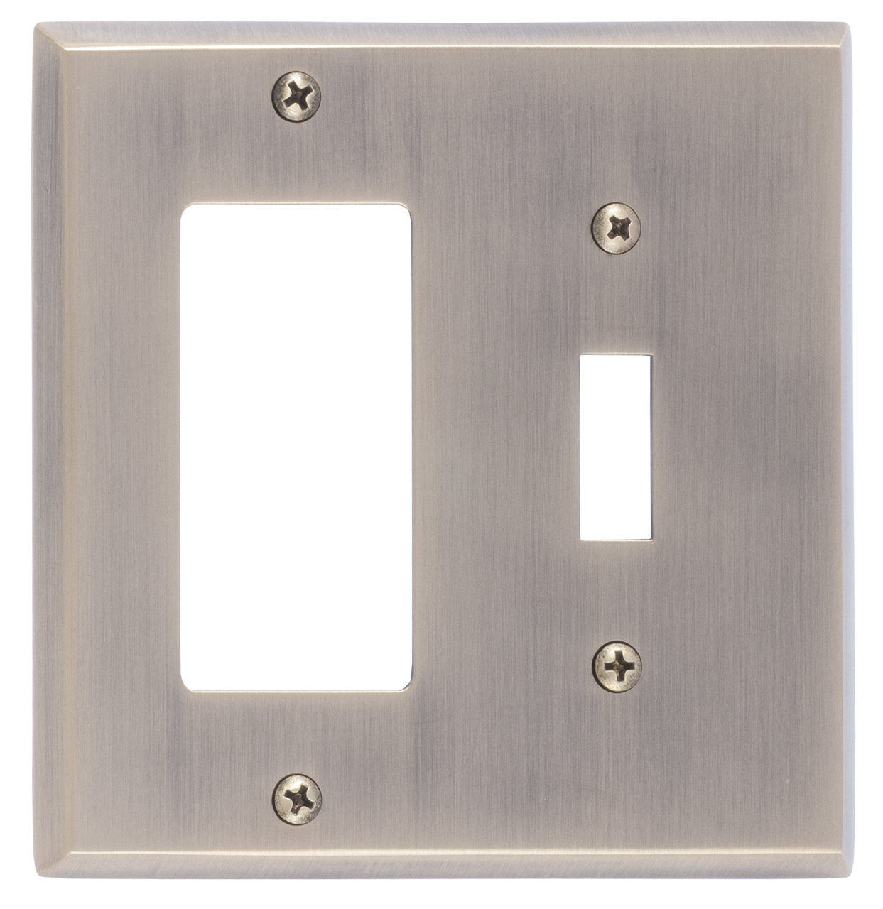 Brass Accents Quaker Switchplates