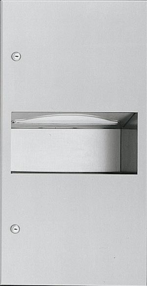 Recessed Paper Towel Dispenser And Waste Receptacle - 10-64623