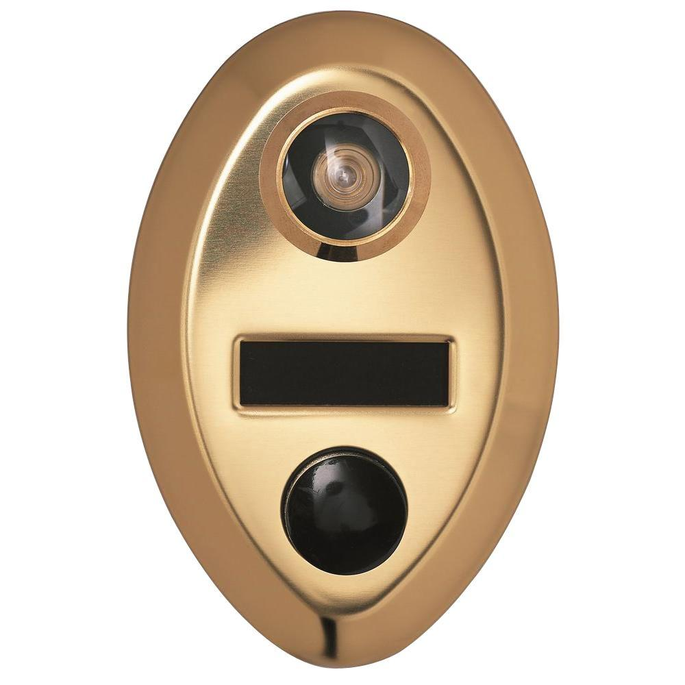Auth Chimes Door Mechanical Chime With Ul Viewer With Name Or Number Engraving 690