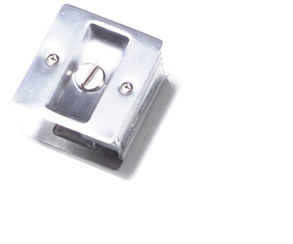 Brass Accents Pocket Door Lock