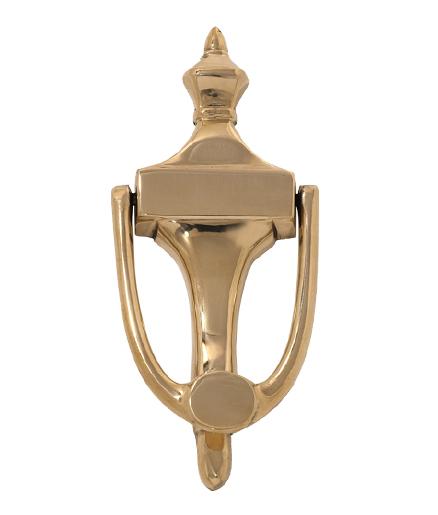 "Brass Accents Ravenna Door Knocker 6-7/8"""