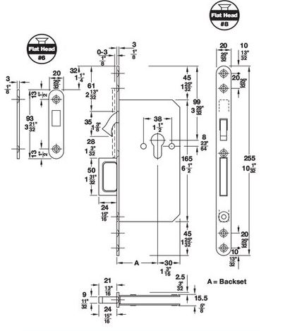 hard to find templates and manuals from lock and hinge rh lockandhinge com Schlage Door Handle Parts Diagram Schlage Door Handle Parts Diagram